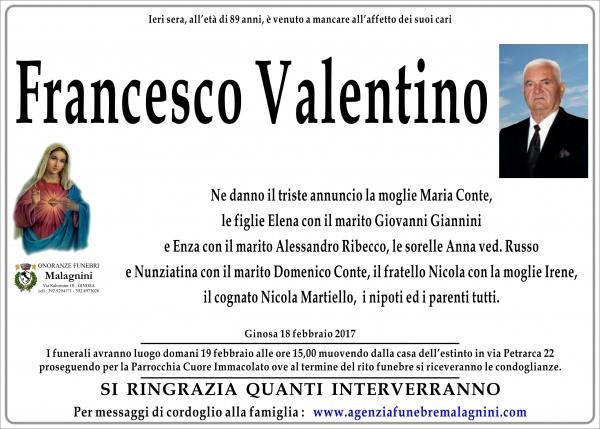 Francesco Valentino