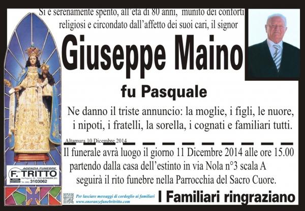 GIUSEPPE MAINO