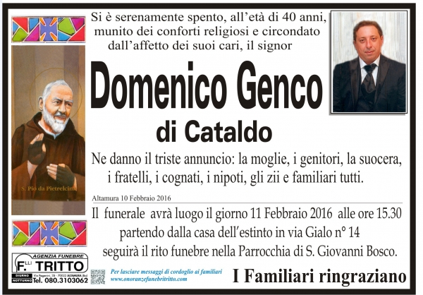 DOMENICO GENCO