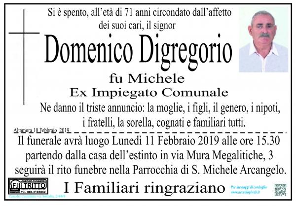 Domenico Digregorio