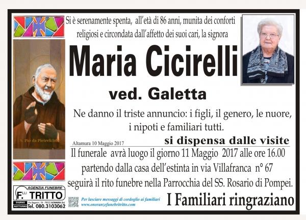 MARIA CICIRELLI