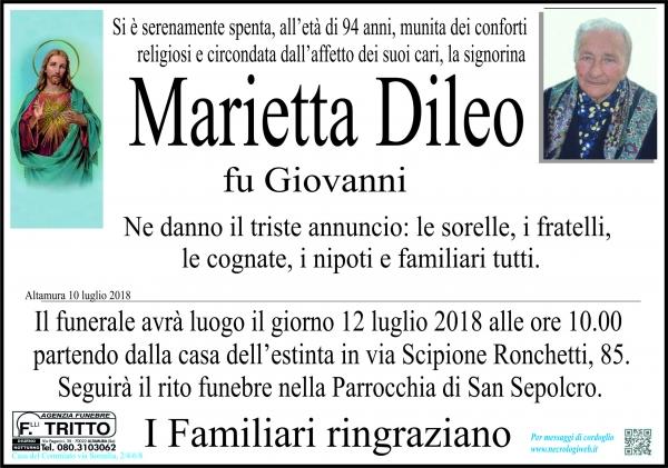 Maria Filippa Dileo