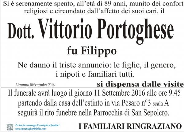 VITTORIO PORTOGHESE