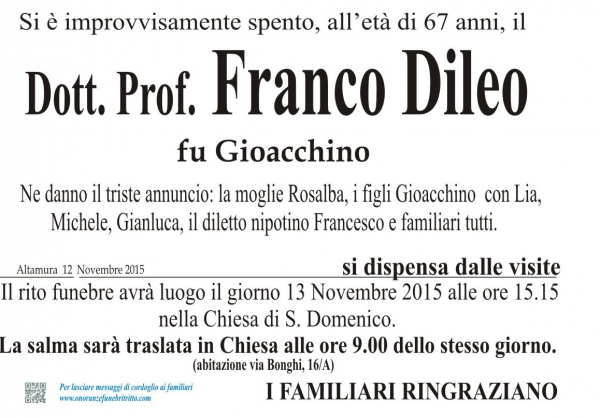 FRANCESCO DILEO