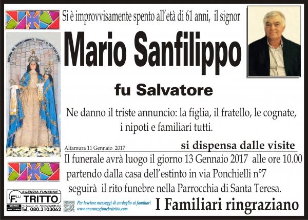 MARIO SANFILIPPO
