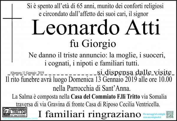 Leonardo Atti