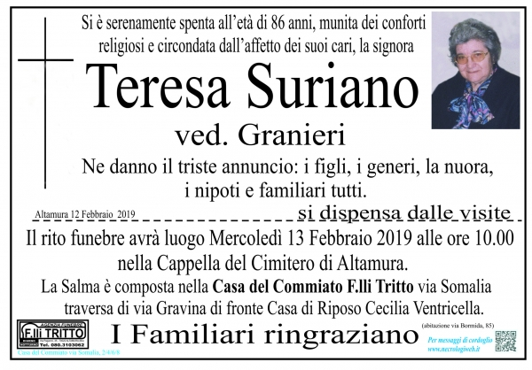 Teresa Suriano