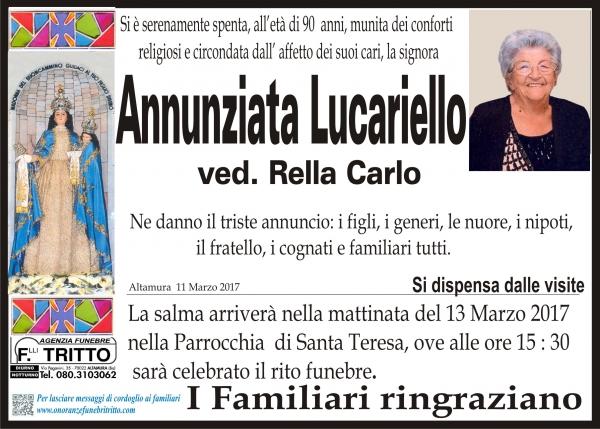ANNUNZIATA LUCARIELLO