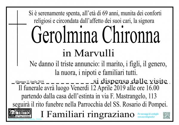 Gerolmina Chironna