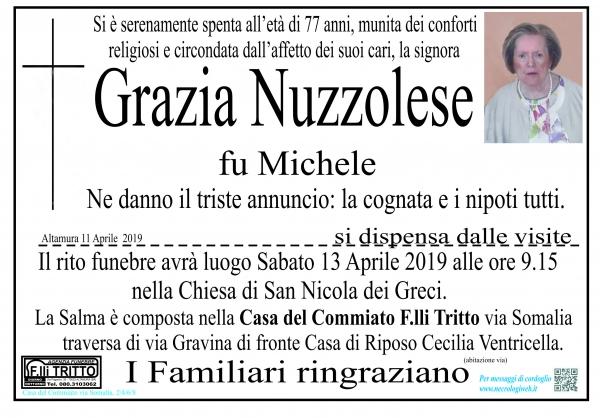 Grazia Nuzzolese