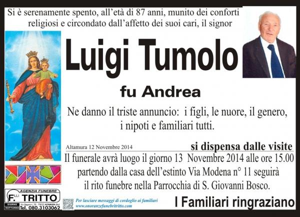 TUMOLO LUIGI