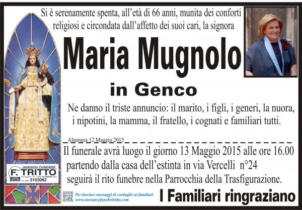 MARIA MUGNOLO