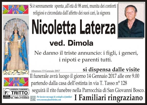 NICOLETTA LATERZA