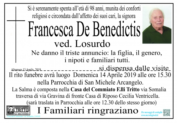 Francesca De Benedictis
