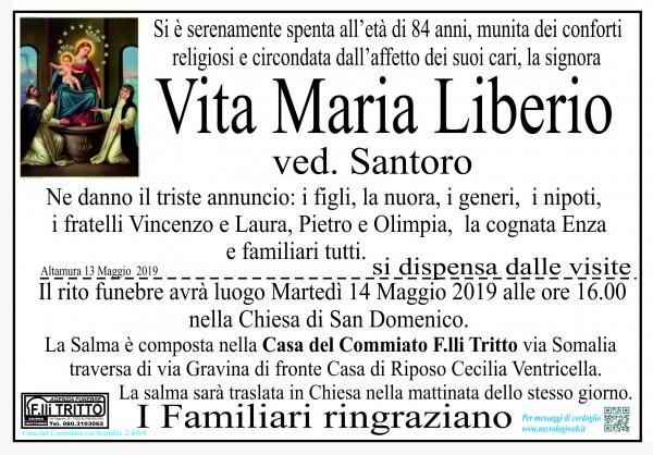 Vita Maria Liberio