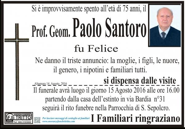 PAOLO SANTORO