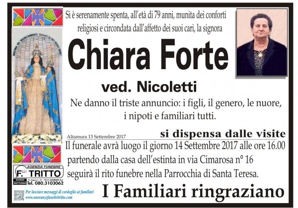 Chiara Forte