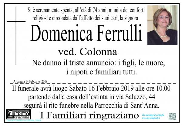Domenica Ferrulli