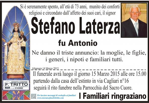 STEFANO LATERZA