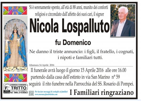NICOLA LOSPALLUTO
