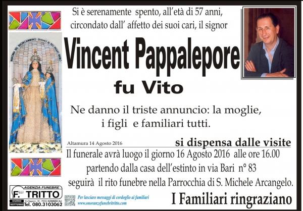 VINCENT PAPPALEPORE