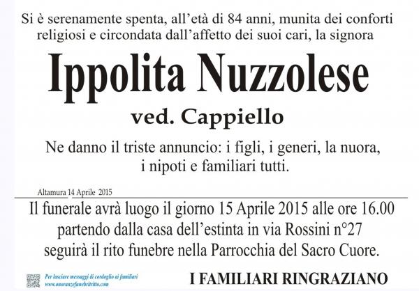 IPPOLITA NUZZOLESE