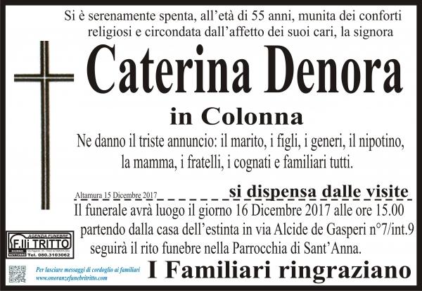 Caterina Denora