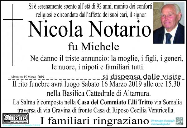 Nicola Notario