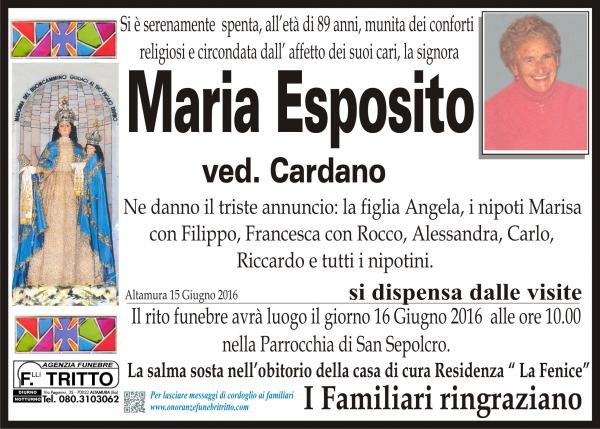 MARIA ESPOSITO