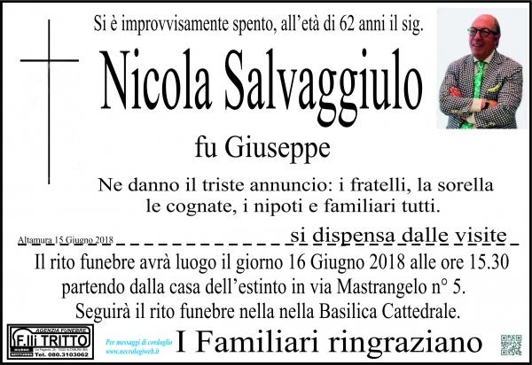 NICOLA SALVAGGIULO