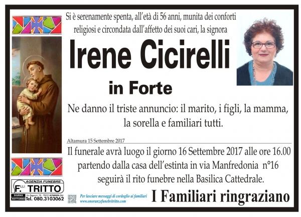 IRENE CICIRELLI