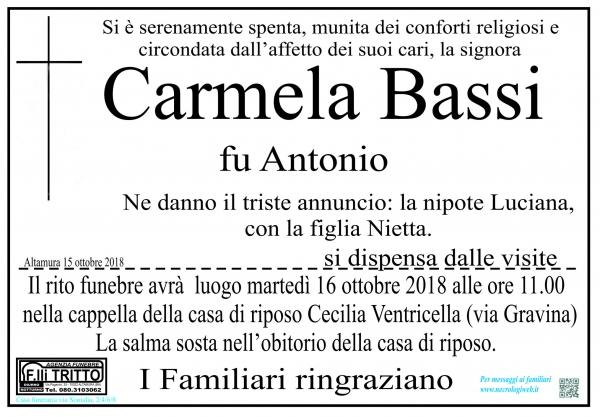 Carmela Bassi