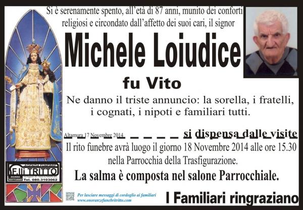 MICHELE LOIUDICE