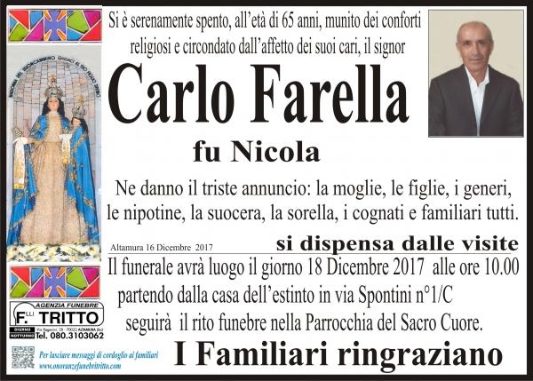CARLO FARELLA