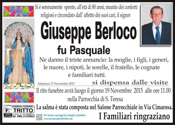 GIUSEPPE ANTONIO BERLOCO