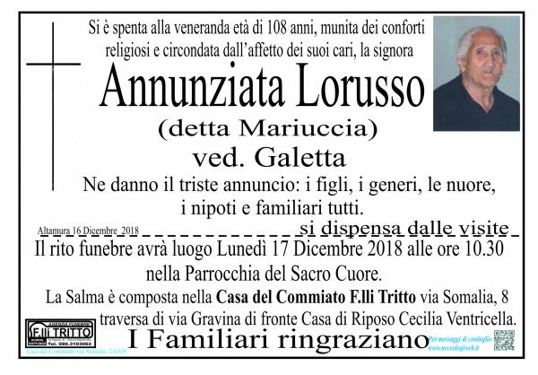 Annunziata Lorusso