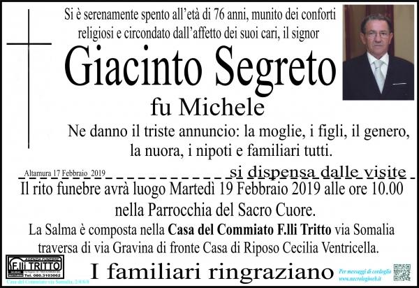 Giacinto Segreto