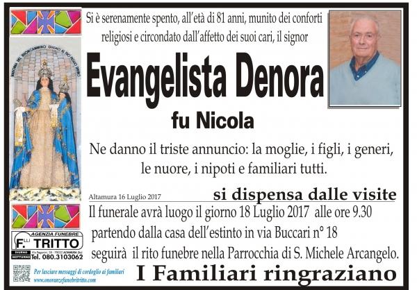 Evangelista DENORA