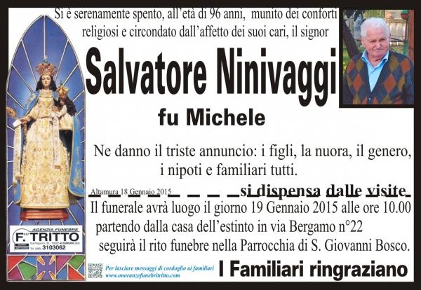 SALVATORE NINIVAGGI