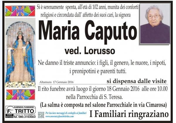 MARIA CAPUTO