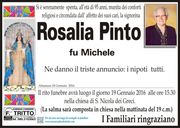 Rosalia Pinto