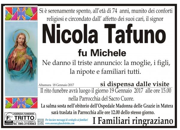 NICOLA TAFUNO