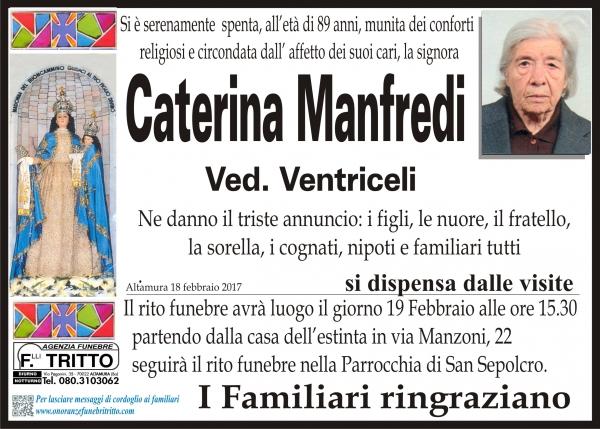 CATERINA MANFREDI