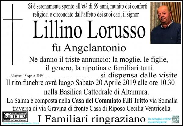 Lillino Lorusso