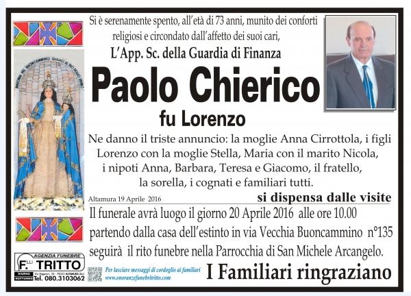 PAOLO CHIERICO