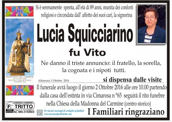 LUCIA SQUICCIARINO