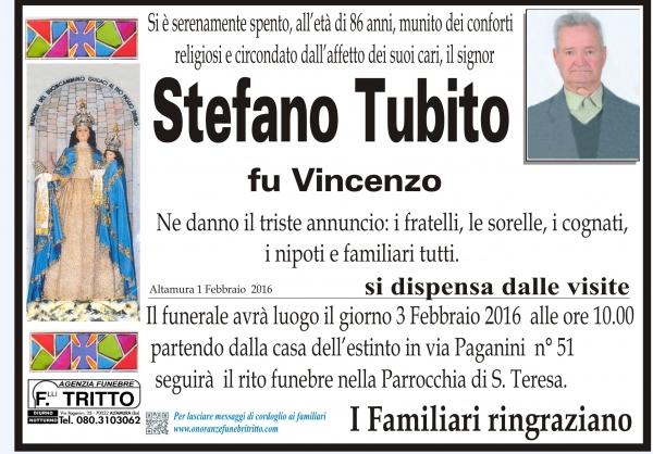 STEFANO TUBITO