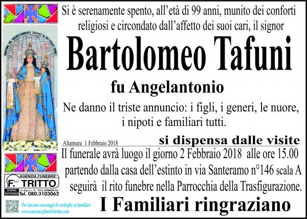 Bartolomeo Tafuni