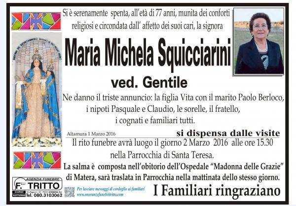 MARIA MICHELA SQUICCIARINI
