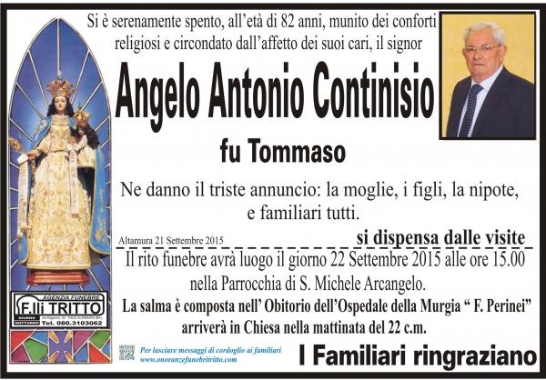 ANGELO ANTONIO CONTINISIO